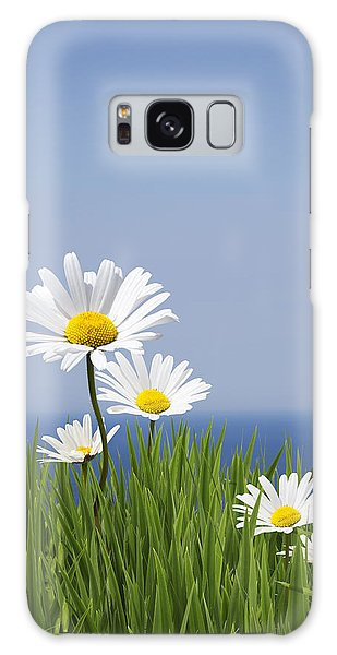 Daisies Galaxy Case