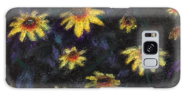 Daisies Galaxy Case by Stan Tenney