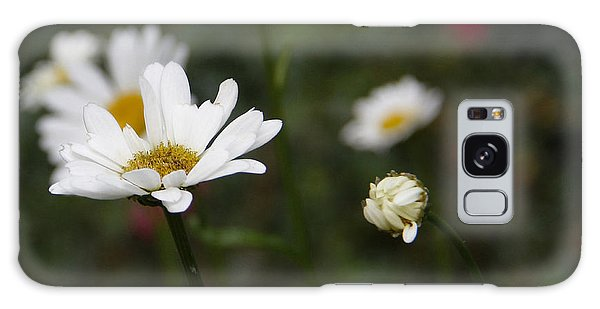 Smiling Daisies Galaxy Case by Yvonne Wright