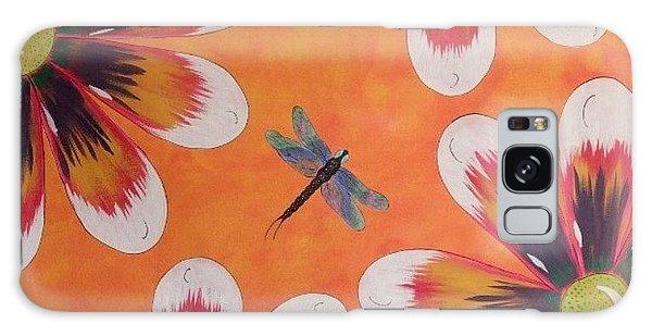 Daisy And Dragonfly Galaxy Case