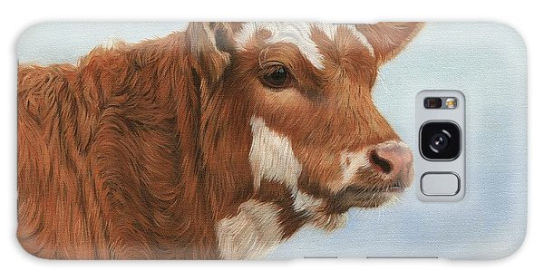 Cow Galaxy Case - Daisy by David Stribbling