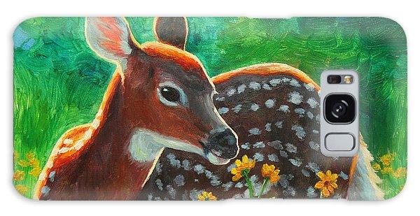 Deer Galaxy Case - Daisy Deer by Crista Forest