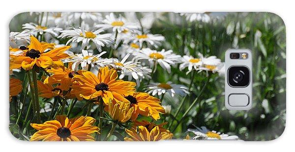 Daisy Fields Galaxy Case by Bianca Nadeau