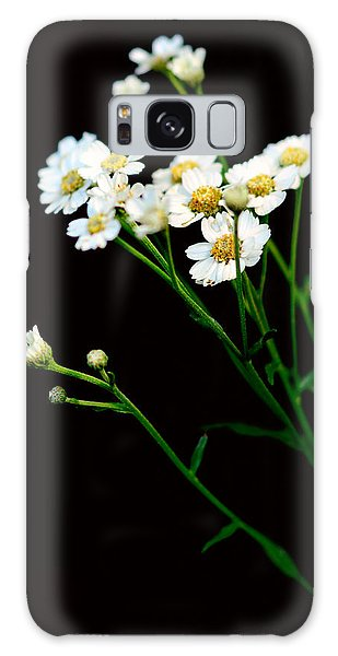 Daisy Flower Bouquet  Galaxy Case