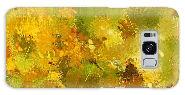 Daisy Garden Galaxy Case by Linde Townsend