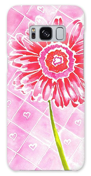 Daisy Love Galaxy Case by Terry Taylor