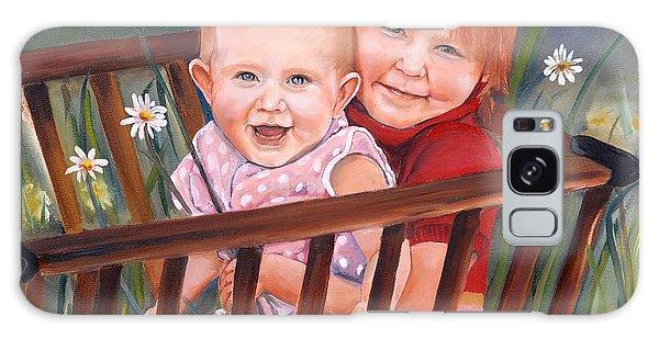 Daisy - Portrait - Girls In Wagon Galaxy Case