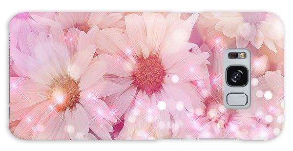 Buy Art Online Galaxy Case - Daisy Sparkles by Debra  Miller