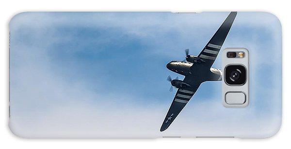 Galaxy Case featuring the photograph Dakota D-day Markings by Scott Lyons
