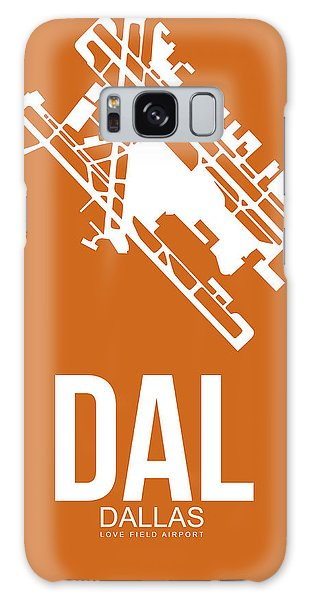 Dallas Galaxy S8 Case - Dal Dallas Airport Poster 2 by Naxart Studio