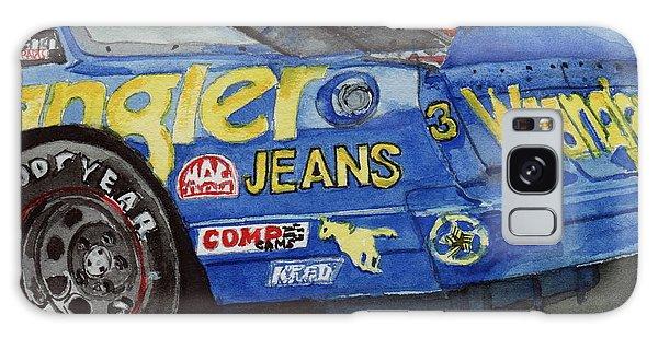 Dale Earnhardt's 1987 Chevrolet Monte Carlo Aerocoupe No. 3 Wrangler  Galaxy Case by Anna Ruzsan