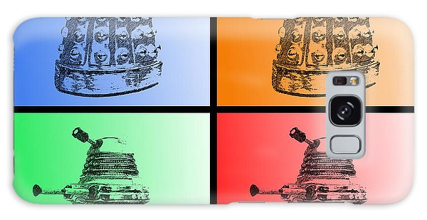 Dalek Pop Art Galaxy Case