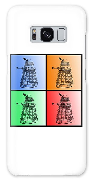 Dalek Pop Art Galaxy Case by Richard Reeve