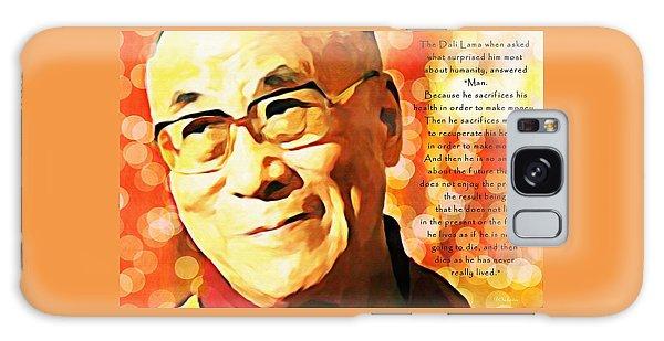 Dali Lama And Man Galaxy Case