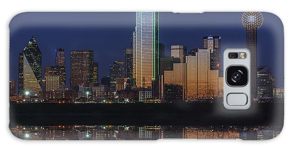 Dallas Aglow Galaxy Case