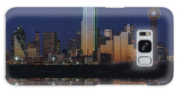 Dallas Aglow Galaxy Case by Rick Berk
