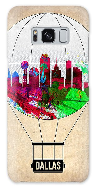 Dallas Galaxy S8 Case - Dallas Air Balloon by Naxart Studio