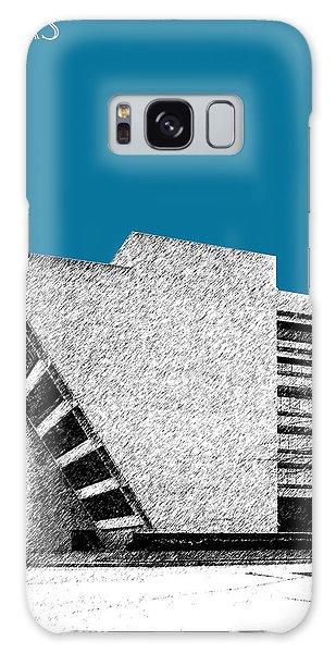 Dallas Skyline City Hall - Steel Galaxy Case by DB Artist