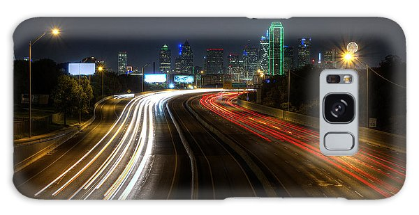 Dallas Night Light Galaxy Case