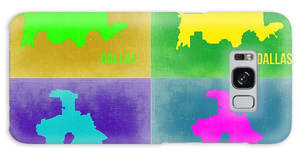 Dallas Galaxy S8 Case - Dallas Pop Art Map 2 by Naxart Studio