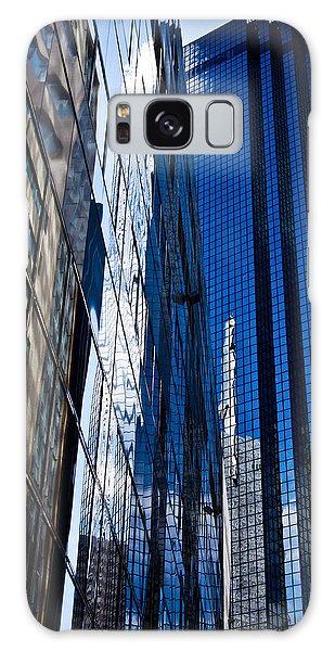 Dallas Reflections Galaxy Case by Mark Alder