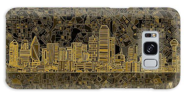 Dallas Skyline Abstract 3 Galaxy S8 Case