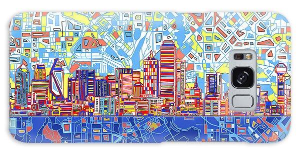 Dallas Skyline Abstract 5 Galaxy S8 Case