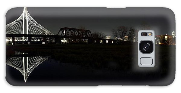Dallas Skyline Hunt Bridge Color Galaxy Case