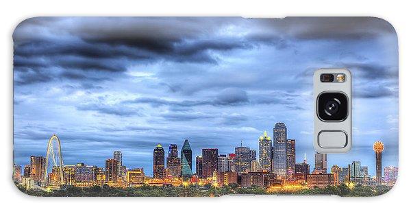 Dallas Skyline Galaxy Case by Shawn Everhart