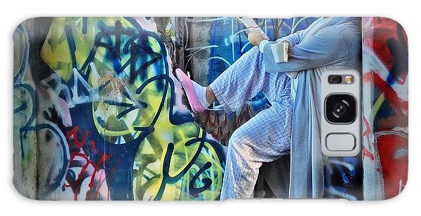 Dalyn At The Graffiti Underground Galaxy Case