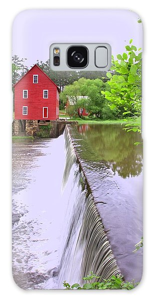 Dam At Starrs Mill Galaxy Case