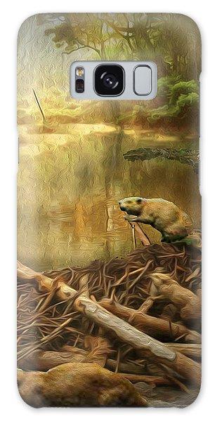 Dam Beavers Galaxy Case