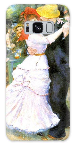 Dance At Bougival Galaxy Case by Pierre Auguste Renoir