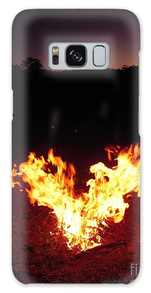 Fire In Your Heart Galaxy Case