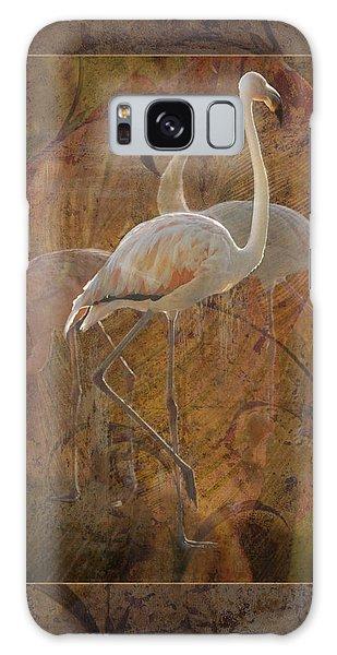 Dance Of The Flamingos Galaxy Case