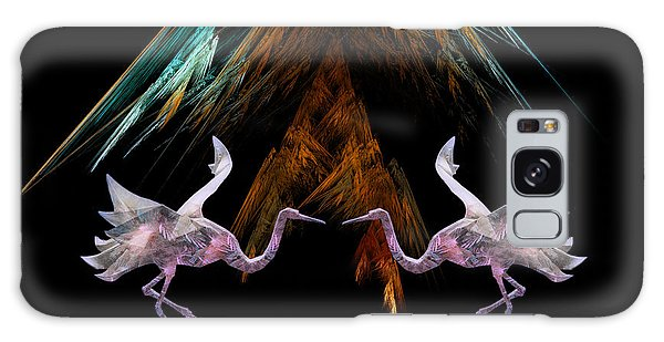 Dance Of The Paper Cranes Galaxy Case by Kathleen Holley