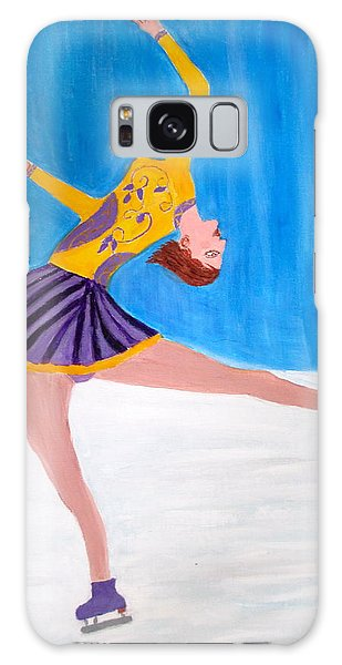 Olympic Figure Skating Galaxy Case - Dance On Ice by Vandna Mehta