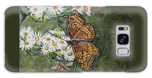 Dance With The Daisies Galaxy Case by Kimberlee Baxter