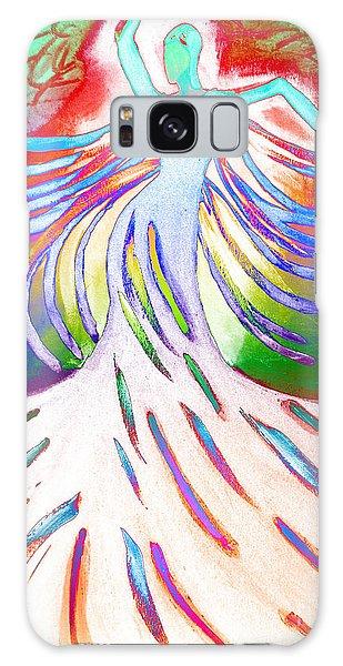Dancer 4 Galaxy Case by Anita Lewis
