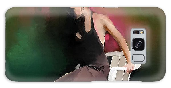 Dancer At Rest Galaxy Case
