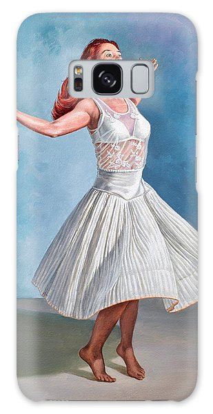 Dress Galaxy Case - Dancer In White by Paul Krapf