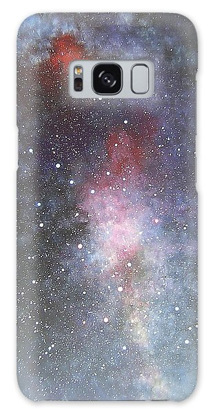 Dancer Galaxy Case by Min Zou