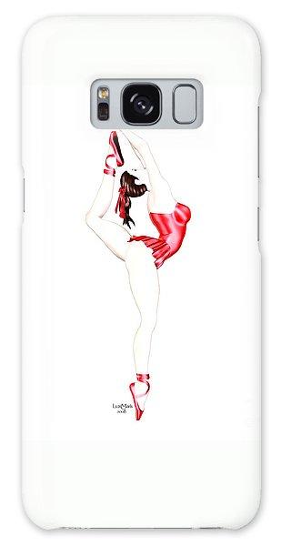 Dancer Galaxy Case by Renate Janssen