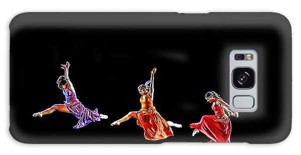 Dancers In Flight Galaxy Case by Bill Howard