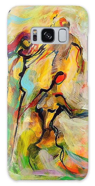 Dancers Galaxy Case by Mary Schiros