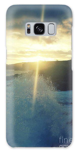Dances With Light Galaxy Case