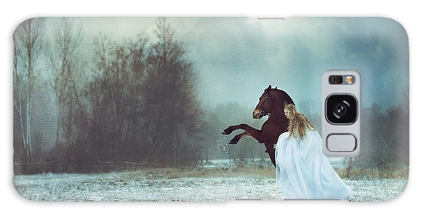 Fairy Galaxy Case - Dances With The Horse by Magdalena Russocka