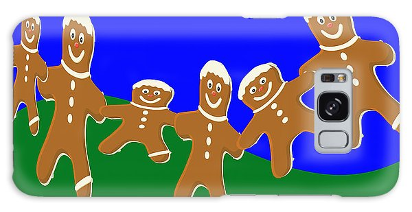 Dancing Cookies Galaxy Case by Tina M Wenger