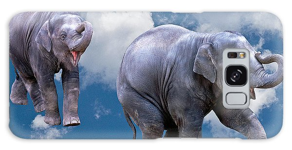 Dancing Elephants Galaxy Case