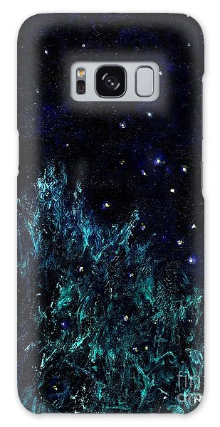Dancing Fireflies Galaxy Case